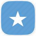 flag, so, somalia icon