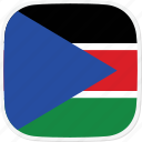 ss, sudan, flag, south