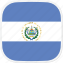el, flag, salvador, sv icon