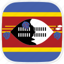 sz, flag, swaziland