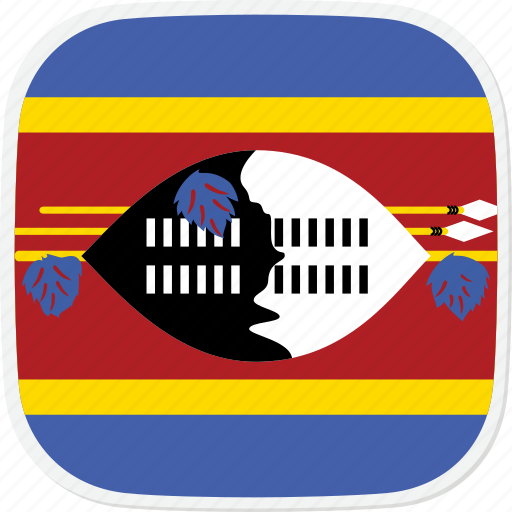 Sz, flag, swaziland icon - Download on Iconfinder