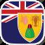 and, caicos, flag, islands, tc, turks icon