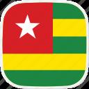flag, tg, togo icon