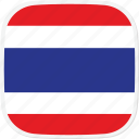 flag, th, thailand icon