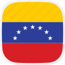 flag, ve, venezuela icon