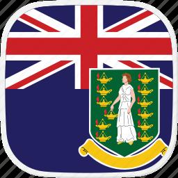british, flag, islands, vg, virgin icon