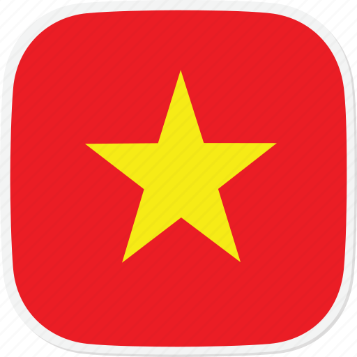 flag, vietnam, vn icon