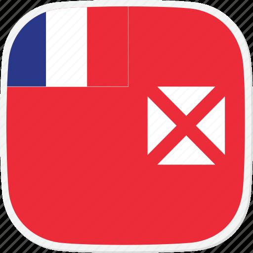 flag, futuna, wallis, wf icon