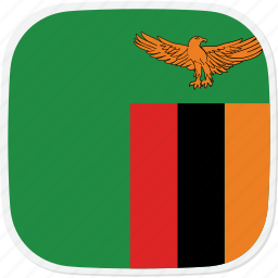 flag, zambia, zm icon