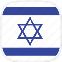 flag, israel, il