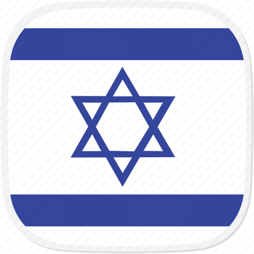 flag, il, israel icon