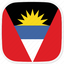 ag, and, antigua, barbuda, flag icon