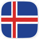 iceland, flag, is icon