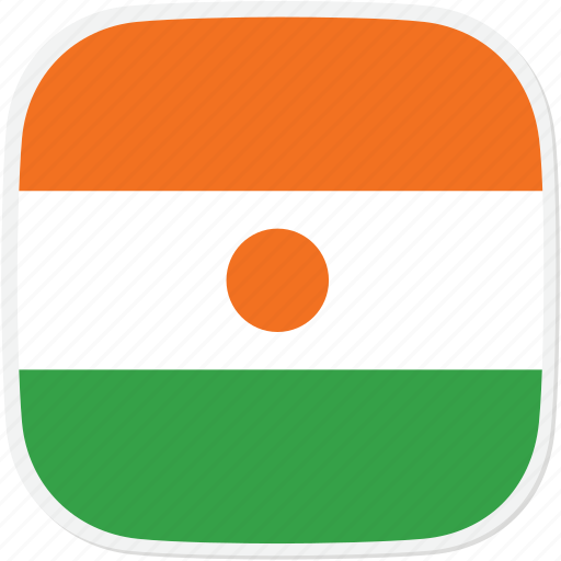 Flag, niger, ne icon - Download on Iconfinder on Iconfinder