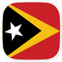 flag, timor, tl icon