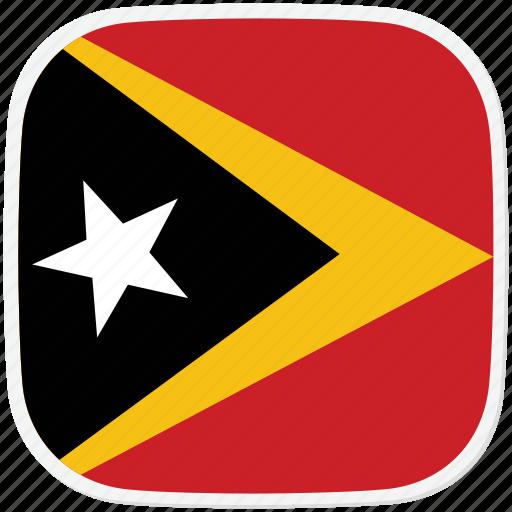 flag, timor, tl icon