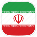 flag, ir, iran icon