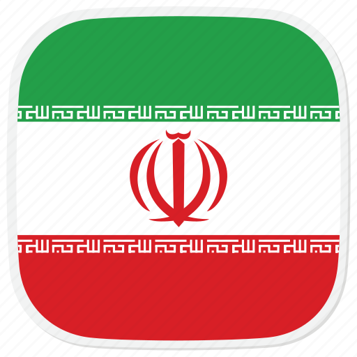 flag, ir, iran icon