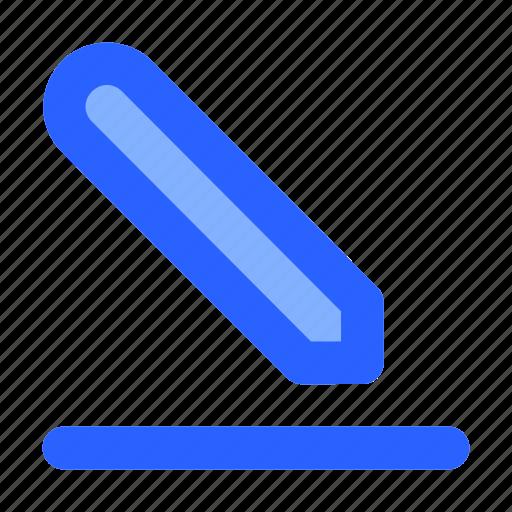edit, interface, pen, pencil, write icon