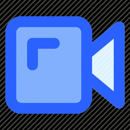 film, interface, media, record, video icon