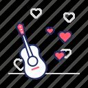 guitar, music, serenade
