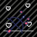 arrow, bow, cupid