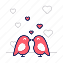 couple, love, romance icon