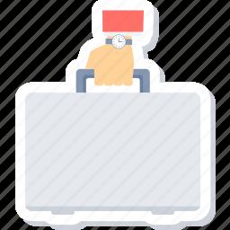 briefcase, portfolio icon