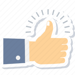 gesture, go ahead, hand, right, thumbs, up, yes icon