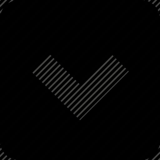 channel, control, down, media, player, remote, square icon