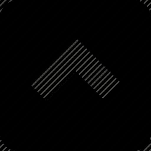 channel, control, media, player, remote, square, up icon