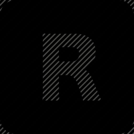 control, media, player, red, remote, square icon