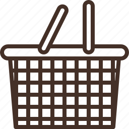 basket, groceries, household, shopping icon