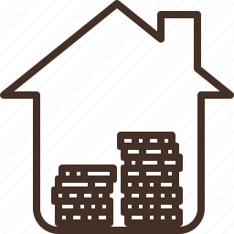 estate, home, house, loan, property, real, rent icon