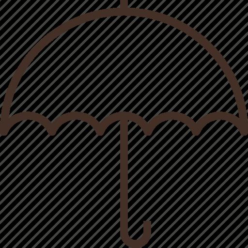 insurance, protection, raining, umbrella icon