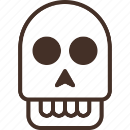 ghost, head, human, skull icon