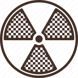 dangerous, radiation, radiology, sign, zone icon