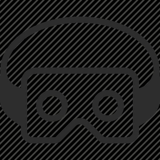 headset, virtual, virtual reality, vr icon