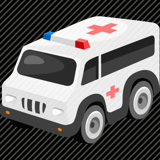 ambulance, car, transport, vehicle icon