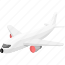 aeroplane, aircraft, airplane, aviation, flight, plain, plane icon