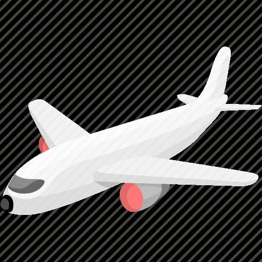 aeroplane, aircraft, airplane, aviation, flight, plain, plane icon