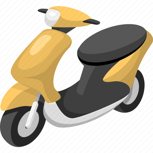 scooter, shipping, transport, transportation, vehicle icon