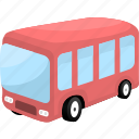 auto, automobile, bus, traffic, transport, transportation icon