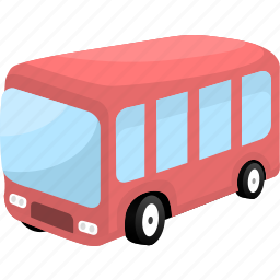 auto, automobile, bus, traffic, transport, transportation icon