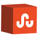 cube, media, set, social, stumbleupon icon
