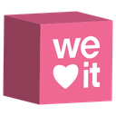 media, weheartit, cube, set, social