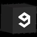 cube, media, set, social