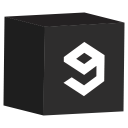 cube, media, set, social icon