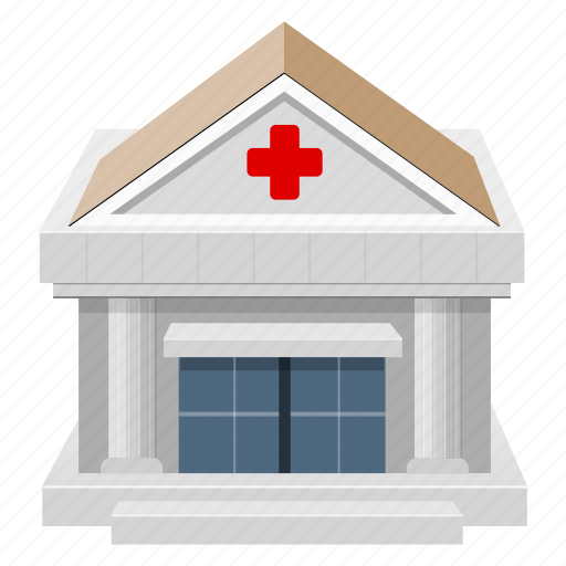 building, clinic, hospital, house icon