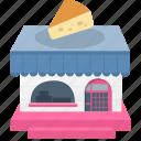 cake shop, cake store icon
